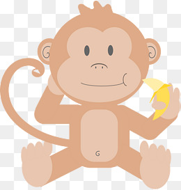 Png vectors psd and. Baby clipart monkey