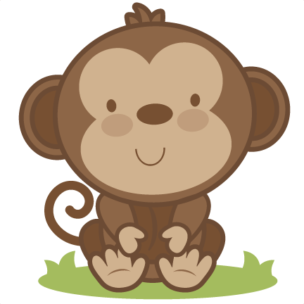 Baby Monkey SVG cutting file monkey svg cut file free svgs free svg