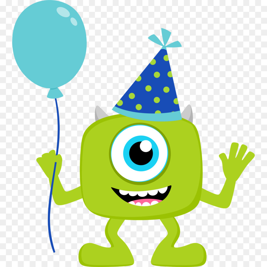 Wedding invitation mike wazowski. Baby clipart monster