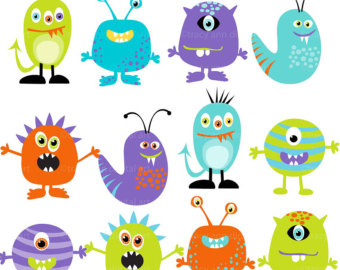 Baby Monster Clipart