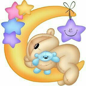Pin by norma calderini. Baby clipart moon