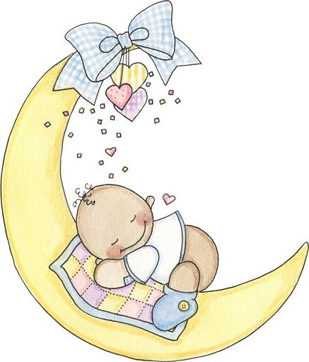 Baby clipart moon.  collection of sleeping