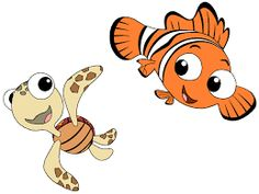 And squirt finding pinterest. Baby clipart nemo