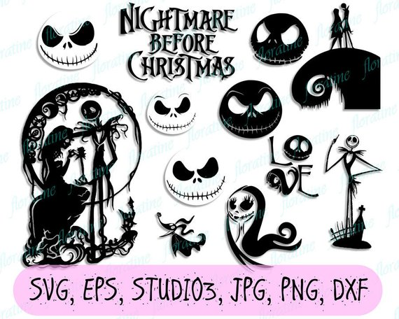 Baby clipart nightmare before christmas. Svg