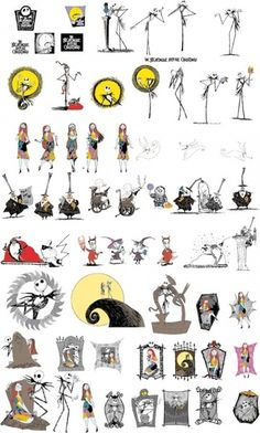 Baby clipart nightmare before christmas. Vector clip art ink