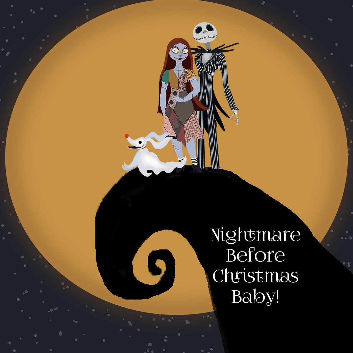 collection of high. Baby clipart nightmare before christmas
