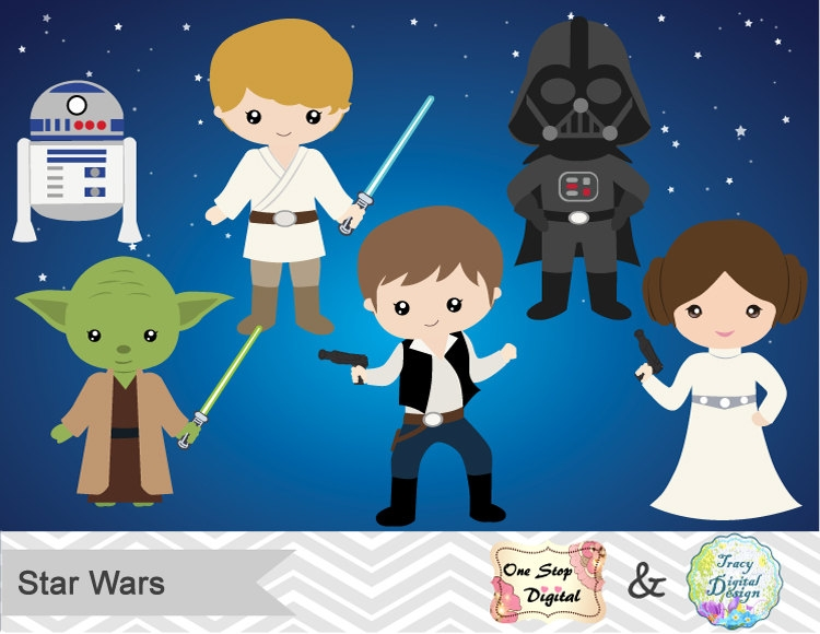 images of star. Baby clipart princess leia