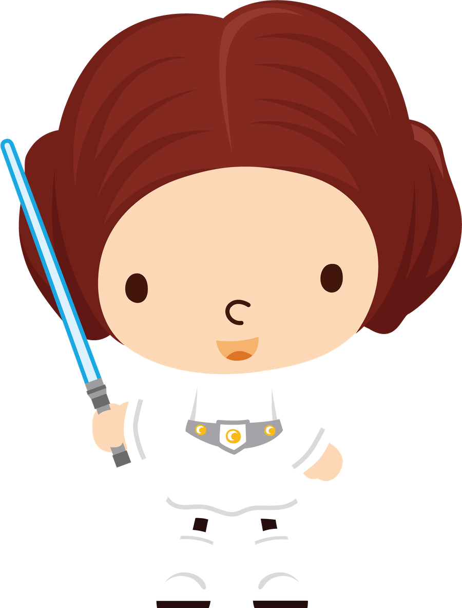Galaxy wars princess leia. Surprise clipart child
