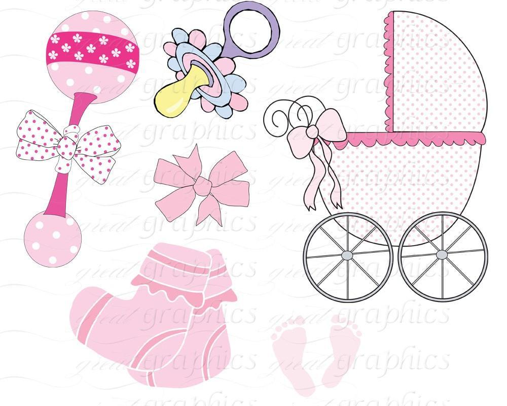 Baby clipart printable. Digital clip art footprint