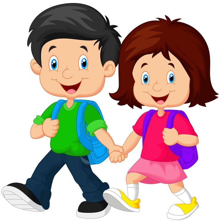 collection of kids. Baby clipart school