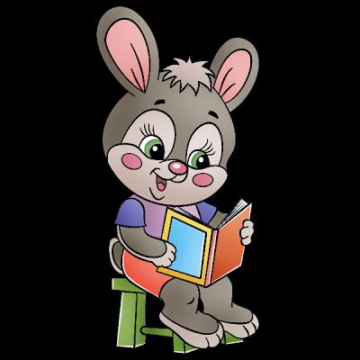 Baby clipart school. Rabbit pinterest