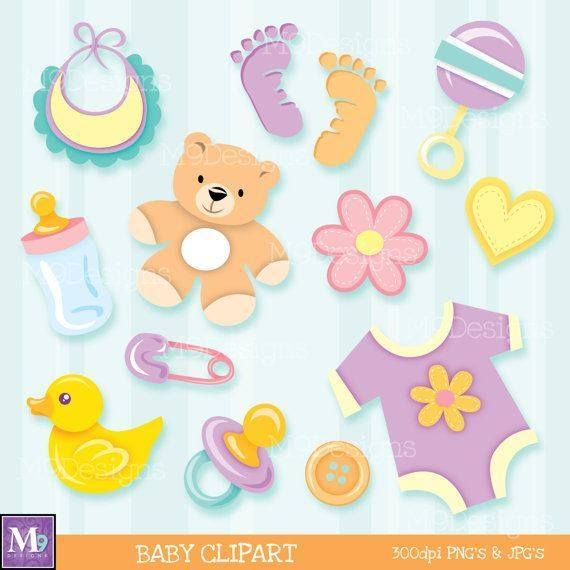 Baby clipart scrapbook.  best images on