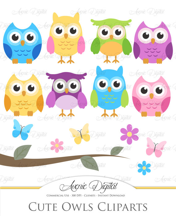Baby clipart scrapbook. Cute owl scrapbooking printables