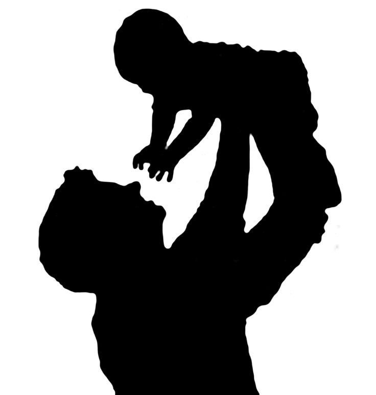 best clip art. Baby clipart silhouette