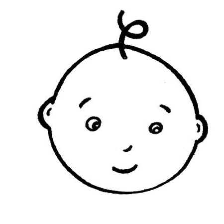 Baby clipart simple. Cares info clip art