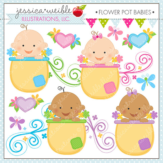 Spring Baby Clipart