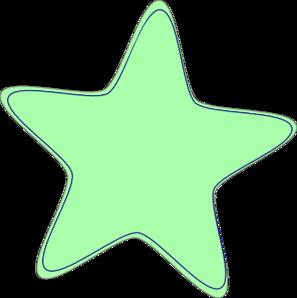 Green clip art at. Baby clipart star