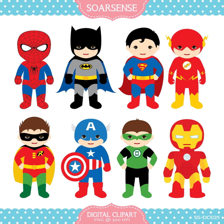 Superheroes february at pm. Baby clipart superhero