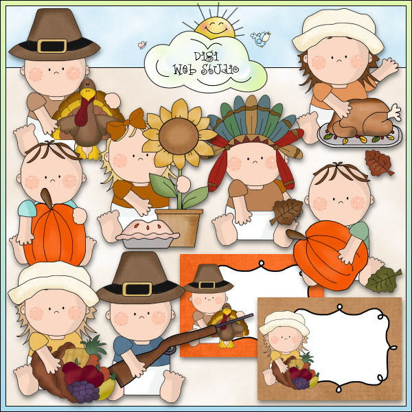 Baby clipart thanksgiving.  collection of high