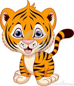 Tiger drawingclipart cute grad. Baby clipart tigers