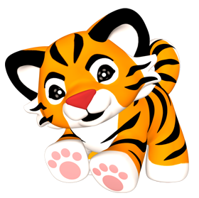 Tiger png transparent images. Baby clipart tigers