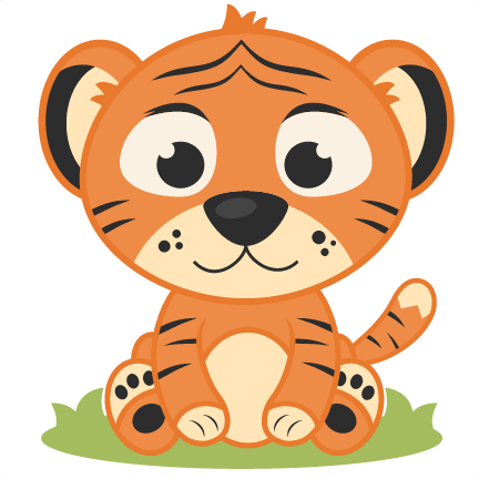 Free baby cliparts download. Clipart tiger kid