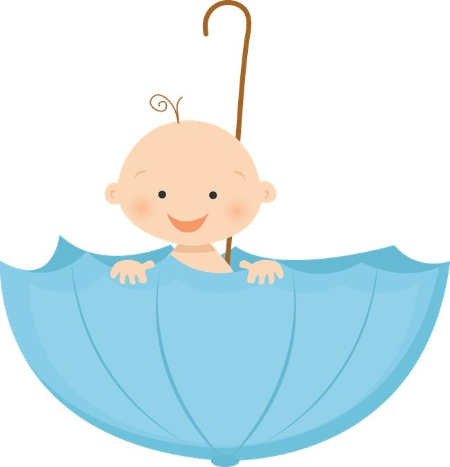 Baby clipart umbrella. Shower gallery ba clip