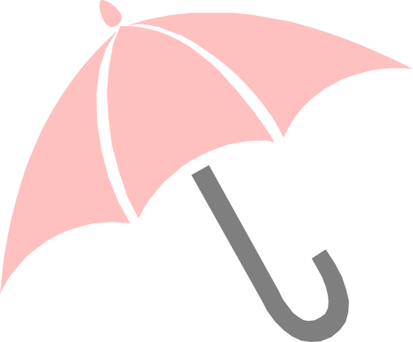 Baby clipart umbrella. Pink clip art at