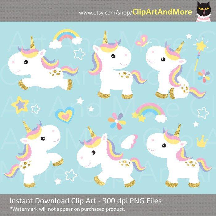 Blue clipart unicorn. Gold clip art pony