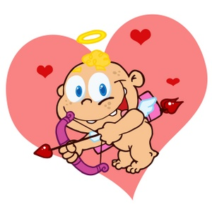 Free image cherub cupid. Baby clipart valentine