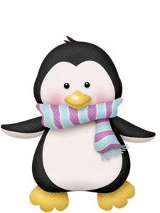 Baby clipart winter. Lliella penguin png clip