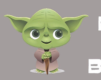 Baby clipart yoda.  collection of high