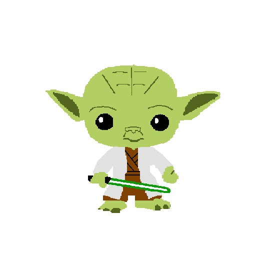 collection of drawing. Baby clipart yoda