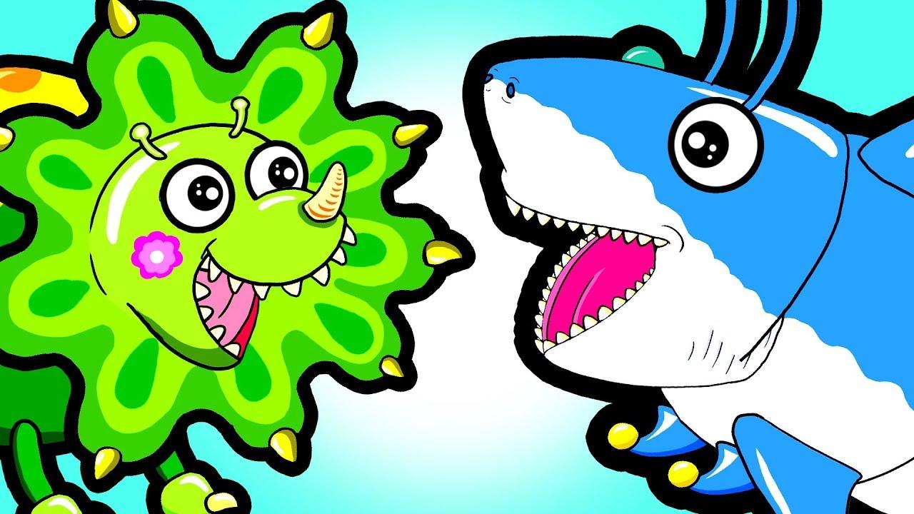 New my cute shark. Babysitting clipart abc123