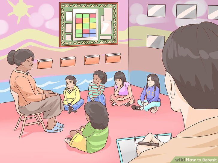 Babysitting clipart baby brother. How to babysit with