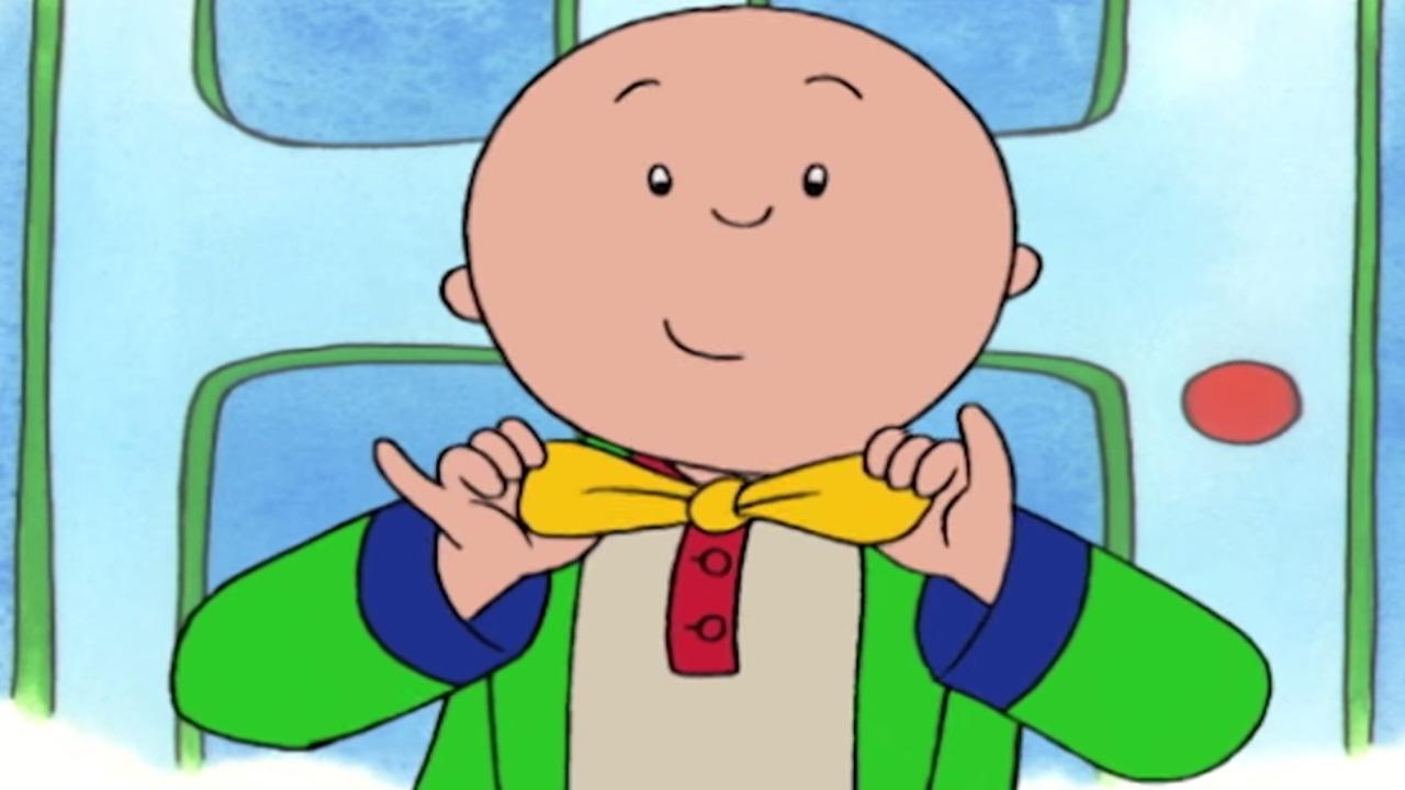 Funny animated cartoon caillou. Babysitting clipart bad family