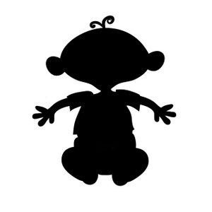 Babysitting clipart black and white. Babysitter clip art panda