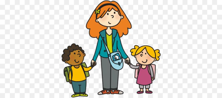 Nurse child kindergarten . Babysitting clipart cartoon