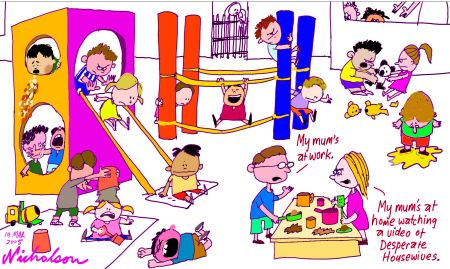 Babysitting clipart child care worker. Nanny daycare in home