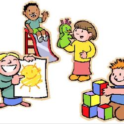 Children s nest family. Babysitting clipart child patience