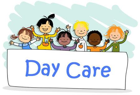 Michelle s daycare care. Babysitting clipart children's day