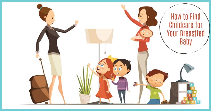 Childcare for your breastfed. Babysitting clipart daycare worker