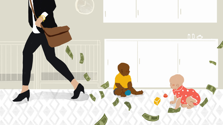 Poll cost of child. Babysitting clipart daycare worker
