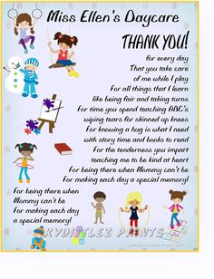 Babysitting clipart daycare worker. Wall art child s