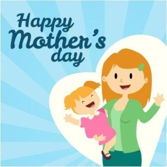Babysitting clipart happy mothers day. Free vector mother card