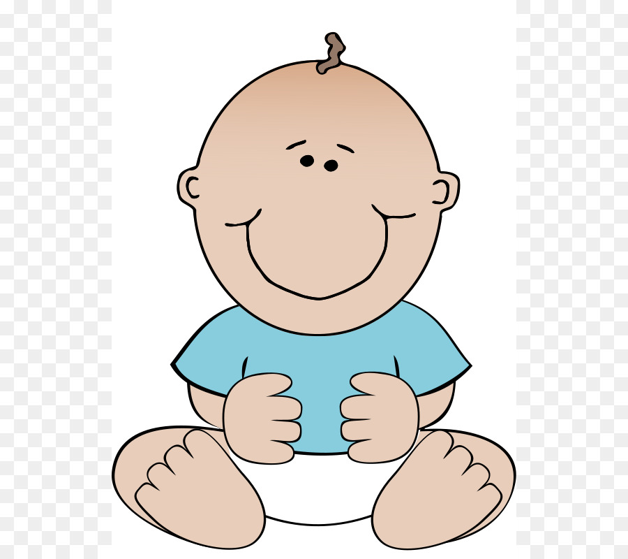 Diaper free content clip. Babysitting clipart infant