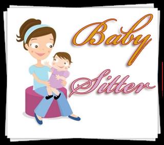 Baby sitting jobs incep. Babysitting clipart job