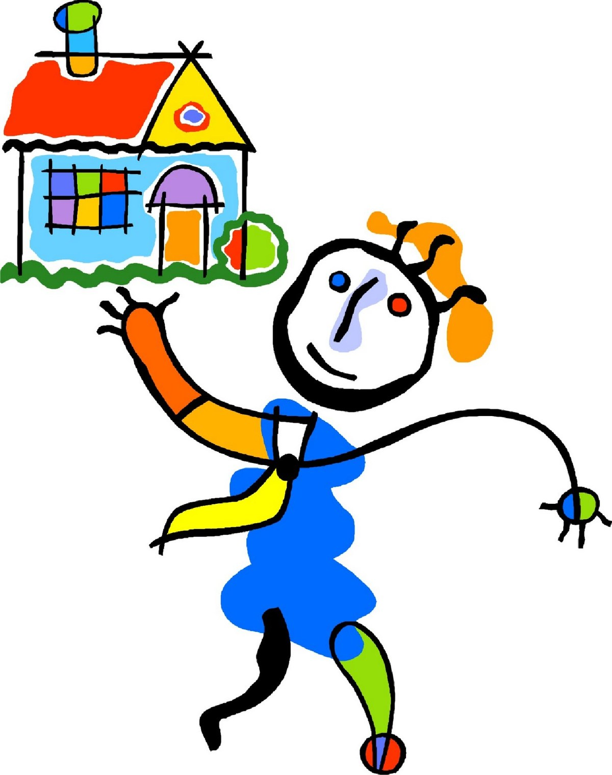 Babysitting clipart leaving house. Free leave home cliparts