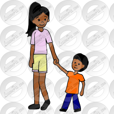 Babysitting clipart male. Babysitter picture for classroom