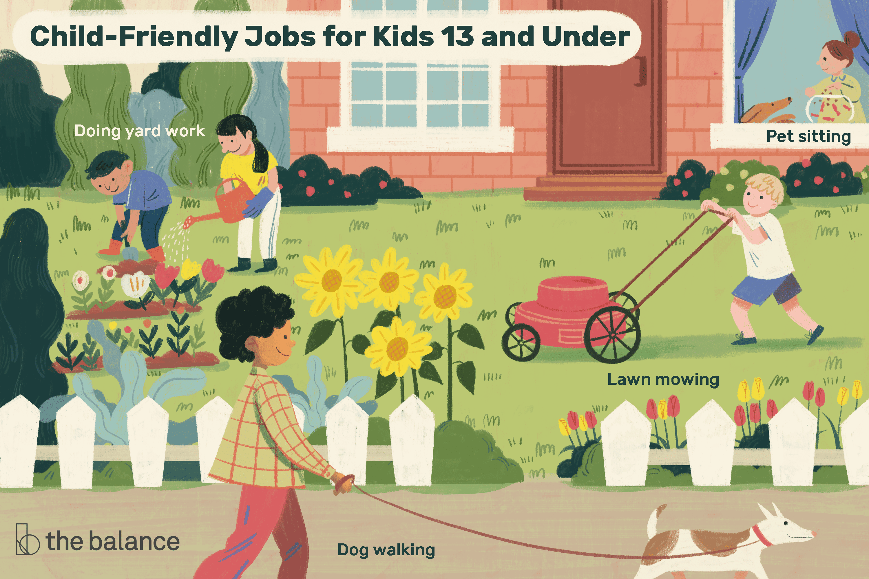 Best jobs for kids. Babysitting clipart responsible parent